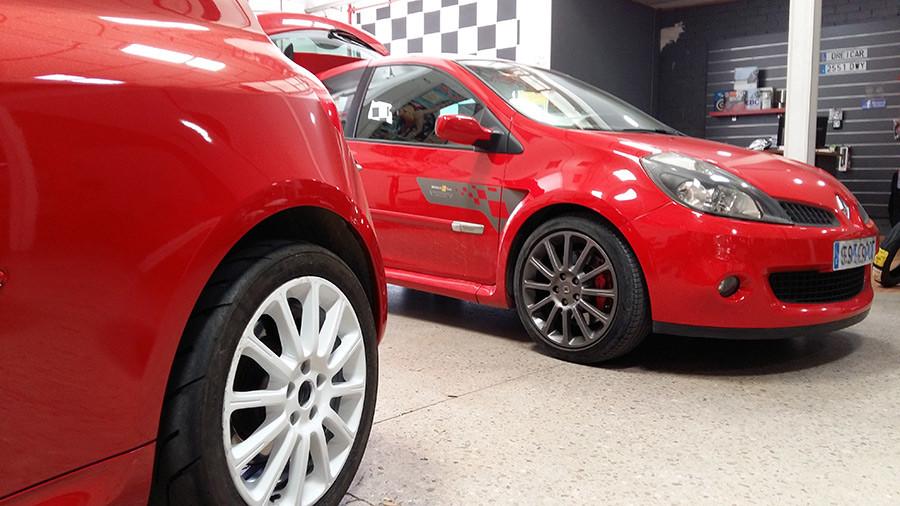 Puesta a punto general Clio Sport R27